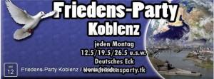 Friedensparty Koblenz 2014